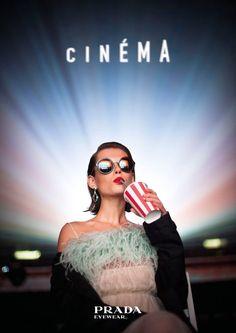 471a0d00ee75 Prada Cinema Spring 2017 Eyewear Short Film