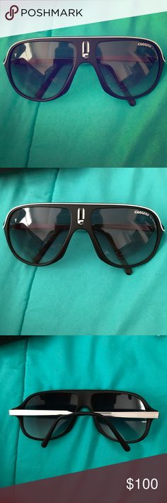 Career men's sunglasses NWOT! These are basically brand new Carrera men's sunglasses! They have UV protection and are a perfect gift for you boyfriend, dad, brother etc. Worn only a couple times! Comes with its original case. Carrera Other
