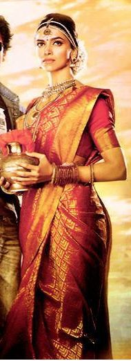 Deepika padukone in south indian bridal avatar from chennai express movie