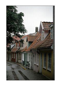 Transect T3 | Suburban | High denes historical rowhouses | Aalborg - Denmark