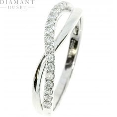 Diamantring 0,25ct TW/SI
