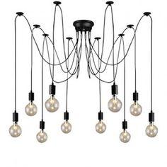 Weekly sales of unseen design and decoration brands at exclusive discounts. Ceiling, Chandelier, Modern Lighting Design, Industrial Chandelier, Lighting Design, Decor, Modern, Industrial, Home Decor