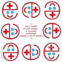 """""""e"""" Het leven is dodelijk  het werkt verslavend En veroorzaakt hartkloppingen  (Raadpleeg uw arts of apotheker) +:)"""