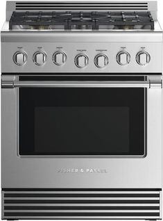 Fisher Paykel 30 Inch Professional Series Freestanding Liquid Propane Gas Range with 5 Burners, cu. Capacity, and 3 Telescopic Racks, in Stainless Steel Convection Cooking, Sliding Shelves, White Heat, Gas Oven, Built In Ovens, Oven Cleaning, Oven Range, Clean Dishwasher, Cookware Set