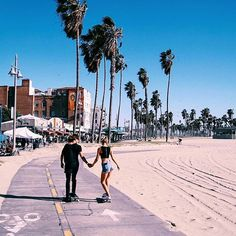 Santa Monica and Venice Beach.
