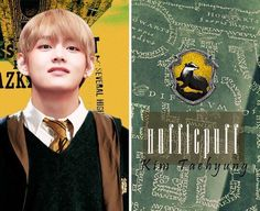 Taehyungie in Hufflepuff?  Today's a good day