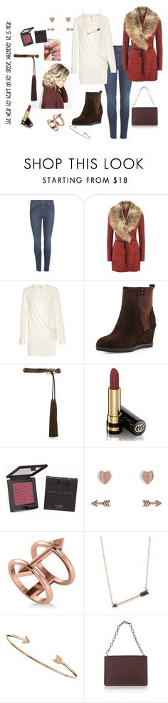 """""""Wears her heart on her sleeve"""" by momma2theking ❤ liked on Polyvore featuring Lazy Days, Gucci, WearAll, DKNY, Taryn Rose, Tory Burch, MAKE UP STORE, Vera Bradley, Allurez and Sydney Evan"""