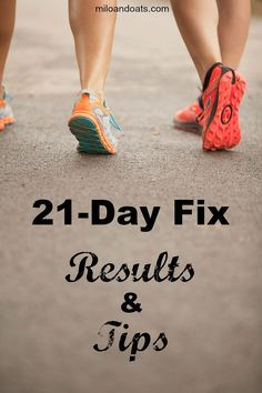 I LOVE the 21-Day Fix. The results are great!  Check out the tips for getting started on a healthier new you!