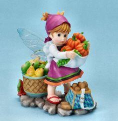 Autumn Bounty Fairy ___My LiTTLe KiTcHeN FAiRiES from Enesco