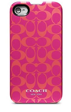 I also bought a coach iPhone case with my coupon...
