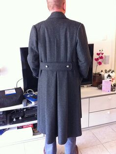 The Sherlock Coat - or a modern version of a classic Military Great Coat