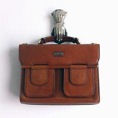 OldWIG Vente & Happening Vintage 22, 23, 24 aout 2014 au Marche des possible #oldwig #vintage #sale #marchedp #mileend #summer #bag #brown #leather #boncourage