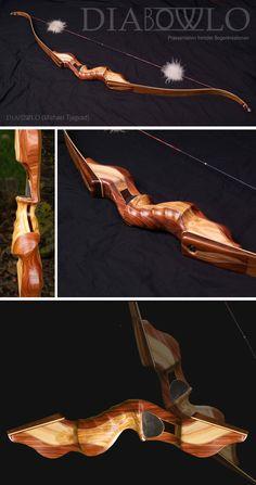 Ein im höchsten Maße gelungene Arbeit. Schon die Geometrie des aufgespannten Bogen hat eine ansprechende Ästhetik.