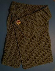 wrap vest --crochet