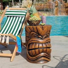 I pinned this Tiki Teeth Sculptural Side Table from the Enchanting Tiki Bar event at Joss and Main!