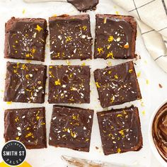 Prune Almond  Orange Brownies  Prune Almond  Orange Brownies  Smith St Paleo