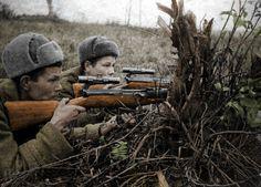 M1 Garand, Ww2 Women, Military Photos, Red Army, American Pride, War Machine, Colour Images, World War Ii, Wwii