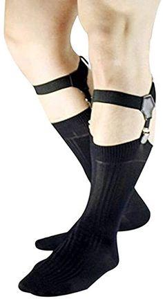 Sock Suspenders, Work Socks, Sheer Socks, Things To Buy, Dapper, Fashion Brands, Stockings, Mens Fashion, Socks