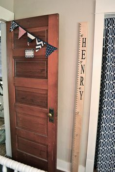 growth chart with name. @Beverly Windham @Shelby Windham I wonder if Keith could make us one of these? :)