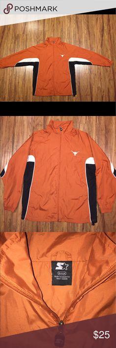 University of Texas Longhorns Starter Jacket Men's Size Medium. Vintage Texas Longhorns Starter Jacket. Great condition. Fits like a big medium. Starter Jackets & Coats Lightweight & Shirt Jackets
