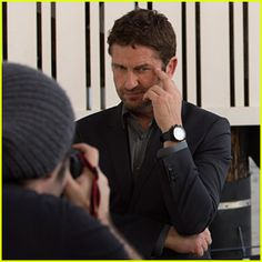Gerard Butler Fronts Festina Watches New Campaign
