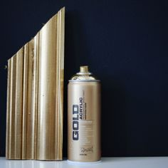 Finding the perfect gold spray paint