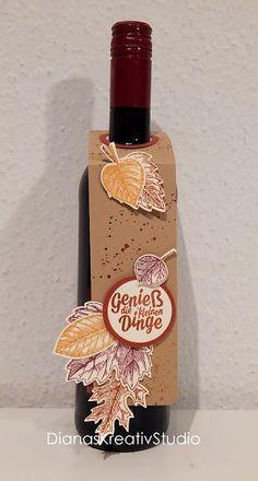 stampin up Flaschenanhänger Herbst Goodies