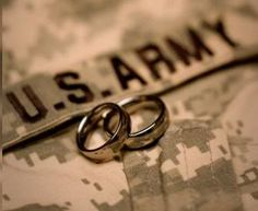 find this pin and more on military weddings - Military Wedding Rings