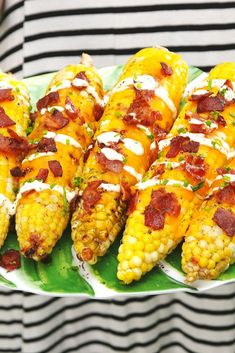 Nope, this Cheddar Bacon Ranch Corn isn't too good to be true. It's just all of your wildest dreams on one plate. Click through more easy grilled corn recipes. Best Bbq Recipes, Corn Recipes, Side Dish Recipes, Grilling Recipes, Cooking Recipes, Side Dishes, Grilling Ideas, Cooking Ideas, Yummy Recipes