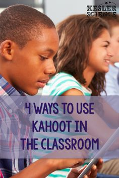 Kahoot is a great platform to integrate technology. It allows you to create interactive games made from a series of multiple choices questions. Students can use any web-enabled device to connect to the game using a unique code. Teaching Technology, Teaching Science, Educational Technology, Teaching Kids, Medical Technology, Energy Technology, Technology Gadgets, Science Classroom, Classroom Ideas