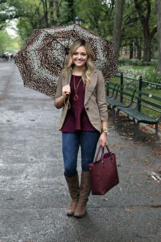 Texture tweed & burgundy...<3