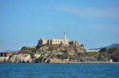 BlondeTravelGirl - Alcatraz, San Fransisco, USA