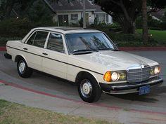 1980 Mercedes 240D by mr deedle, via Flickr