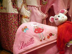 Broderie avec le prénom BERTILLE (1)