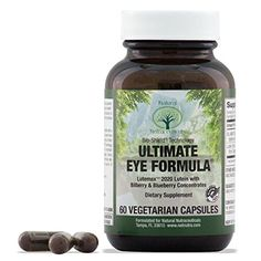 Natural Nutra Eye and Vision Supplement with Lutein Bilberry and Blueberry Extract 60 Capsules >>> Want additional info? Click on the affiliate link Amazon.com on image.