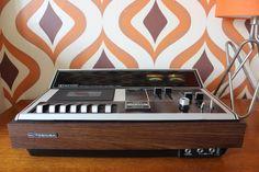 Toshiba PT-470 Vintage Retro hi-fi Music cassette tape player deck separate 1972 studio