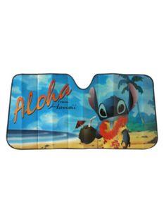 Disney Lilo & Stitch Aloha Accordion Sunshade