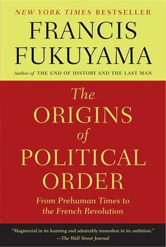 """No """"lite"""" #indigo #perfectsummer reading for me! This is the time to catch up on all the meaty books I don't have time for the rest of the year. // The Origins of Political Order: From Prehuman Times to the French Revolution"""
