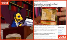 """In 1991, Ringo took decades to respond to his fans. 