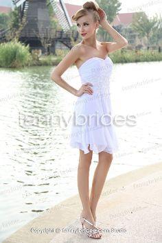 2013 Pretty Chiffon Sweetheart Cheap Fashion Wedding Dress