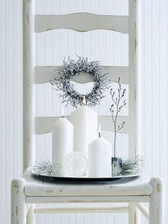 To replace the dead flowers in the chair on the porch!  Great idea.