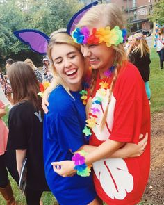 Big little sorority lilo and stitch dynamic duo BIG LITTLE REVEAL kappa delta university of Arkansas