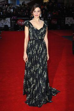 Best dressed - Rachel Weisz in an Alexander McQueen gown