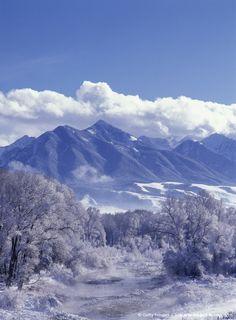 PARADISE VALLEY, MONTANA, USA | ... -Paradise Valley and Absaroka Mountains, Park County, Montana, USA