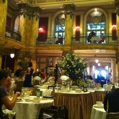 Sunday brunch at the Jefferson Hotel. So over the top but so fun!
