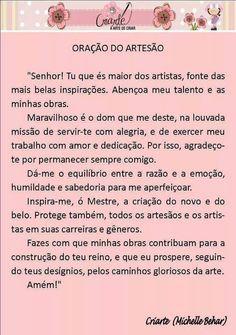Oração da artesã