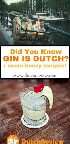 Find out about the Dutch origins of Gin and make some tasty cocktails while you're at it!