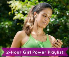 2-hour girl power playlist