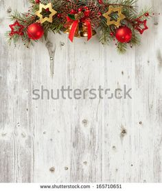 Christmas decoration on old grunge wooden board Royalty Free Stock Photo Christmas Photos, Christmas Wreaths, Christmas Crafts, Christmas Decorations, Holiday Decor, Grunge, Vinyl Backdrops, Happy New Year 2019, Christmas Villages