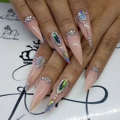 Love, but u would personally get coffin style nails